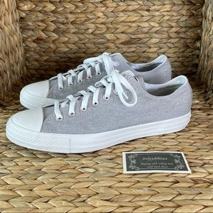 Converse All Star Light Gray Low Top